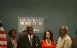 Holmes, National Press Club Picture