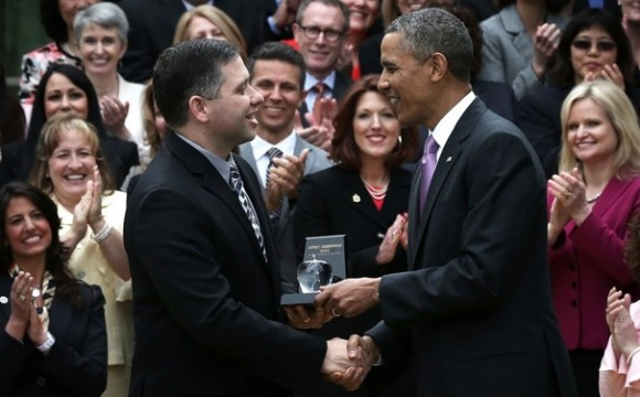 Who is the 2013 National Teacher of the Year?