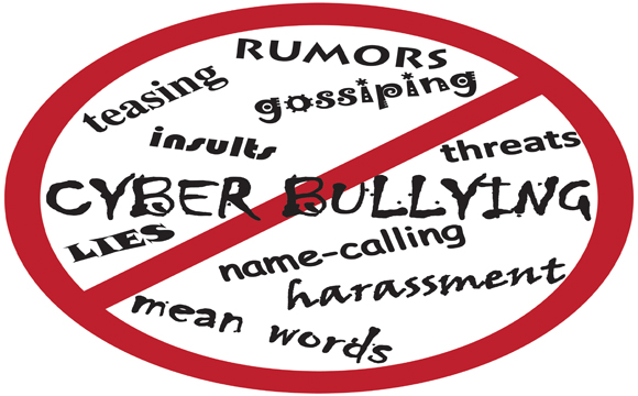 How does a video contest bring awareness to cyberbullying?
